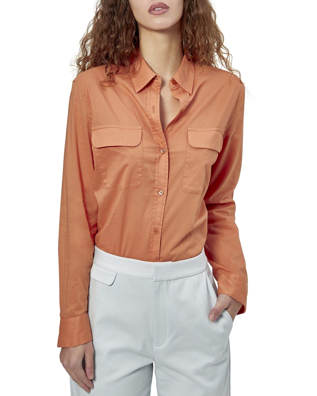 Signature Collared Cotton Shirt