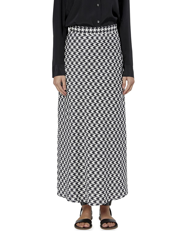 Iva Long Graphic Skirt