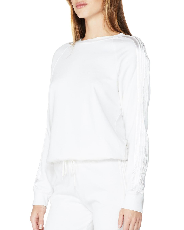 Slouchy Raglan-Sleeve Sweatshirt