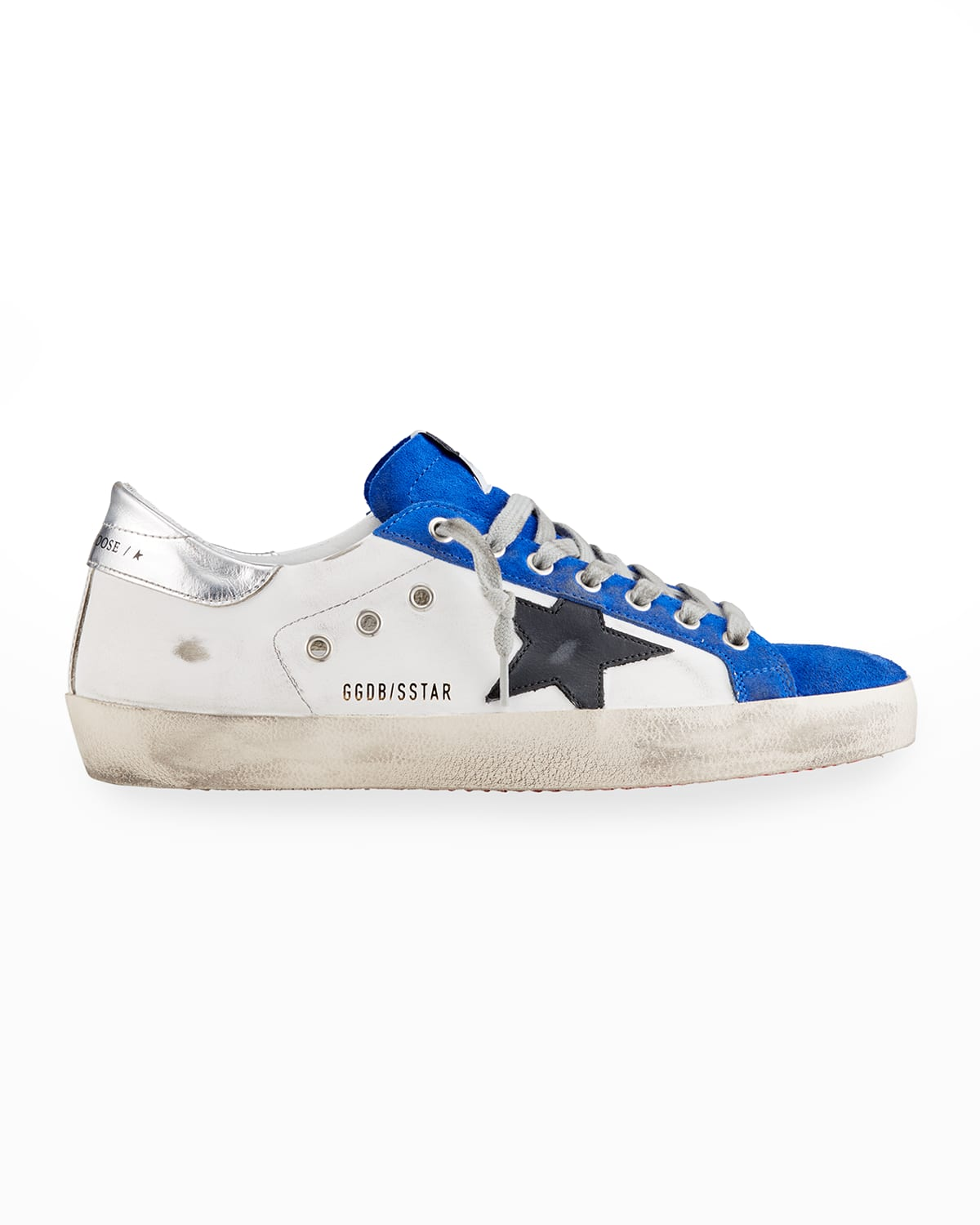 Men's Super Star Mix-Leather Low-Top Sneakers