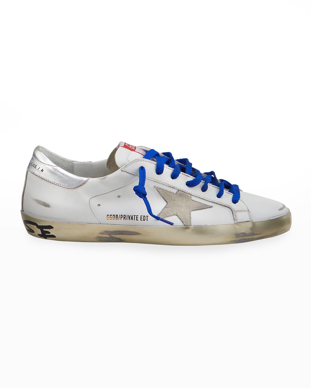 Men's Super Star Metallic-Sole Low-Top Sneakers