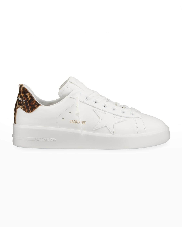 Men's Pure Star Leopard-Print Sneakers