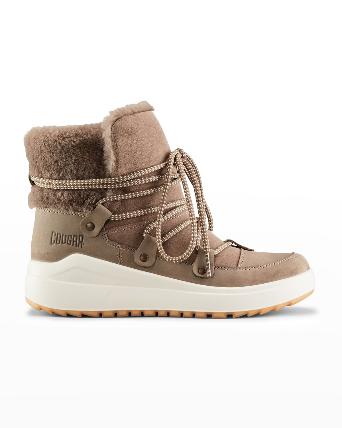 Treville Suede Shearling Winter Boots