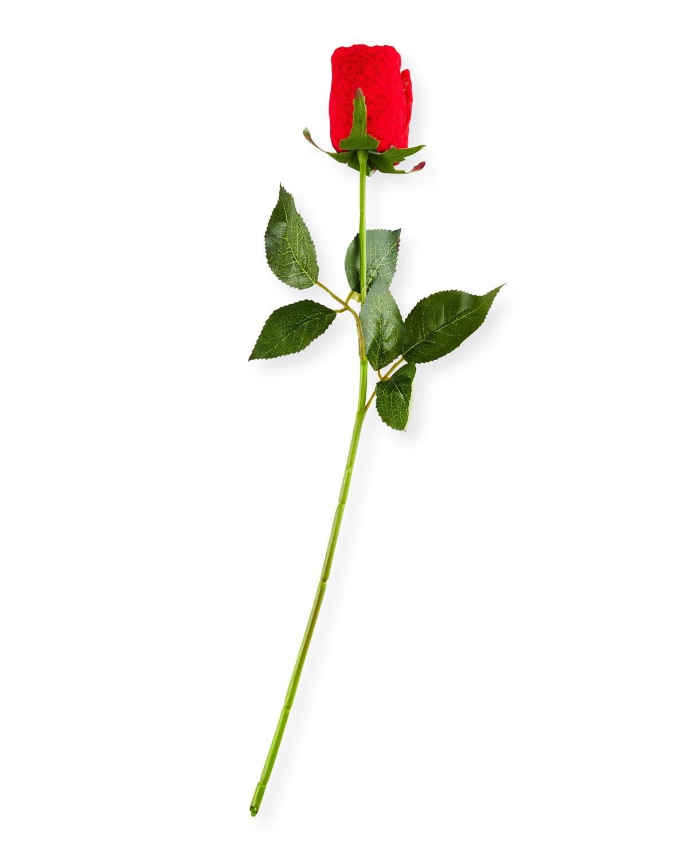 Single Rosebud Original-Rise Lace Thong