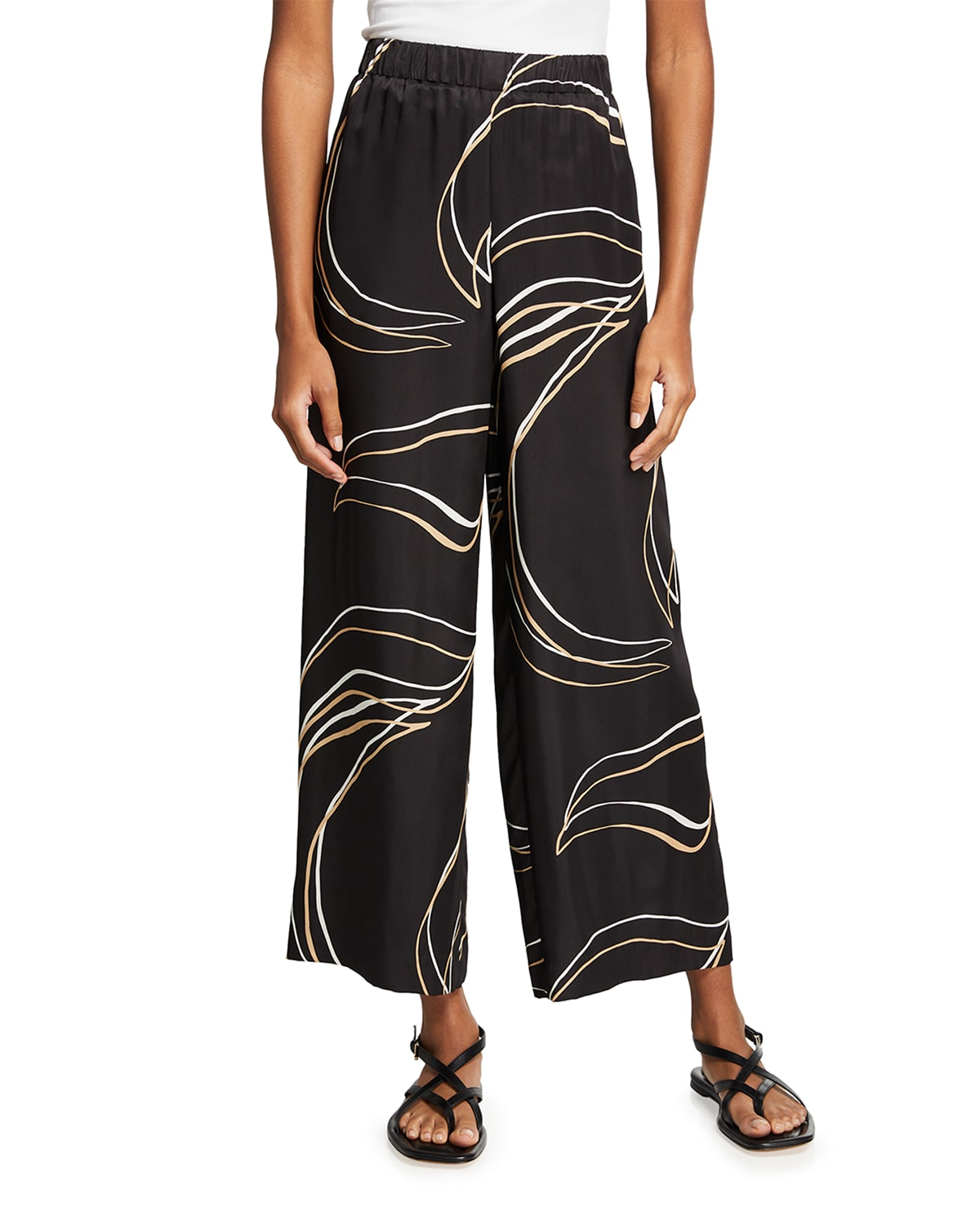 Riverside Pull-On Ankle Pant