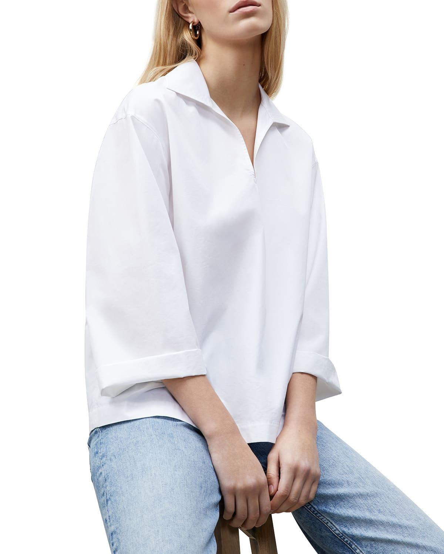 Dales Long-Sleeve Cotton Shirt