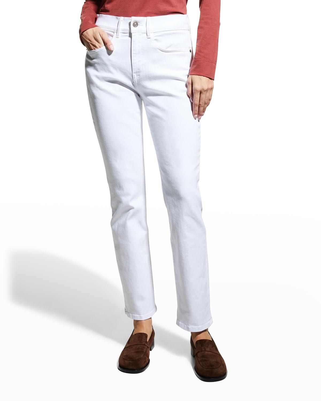 Reeve High-Rise Straight-Leg Jeans