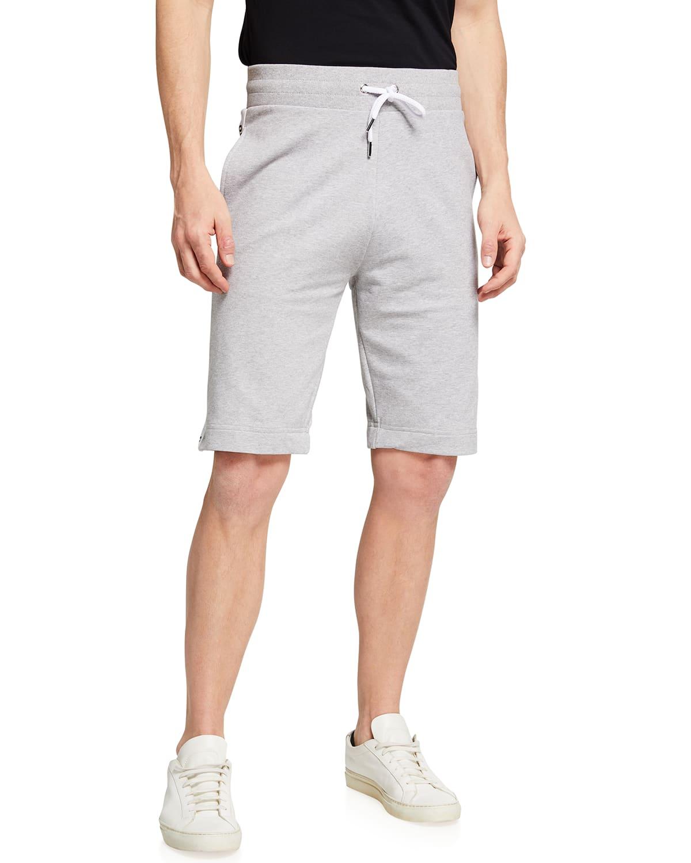Men's High-Rise Lounge Shorts w/ Logo Taping