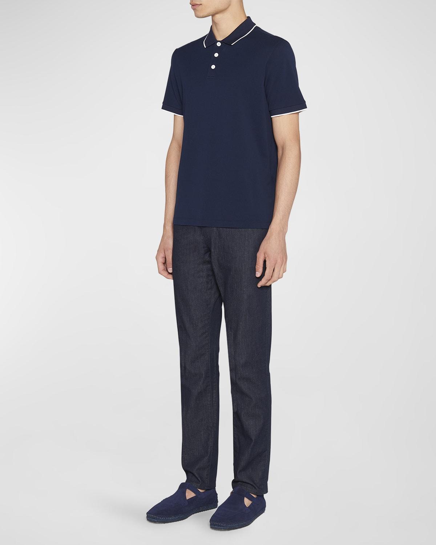 Men's Tipped Polo Shirt