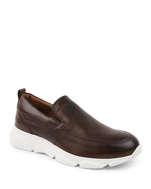 Men's Lorenzo Leather Slip-On Shoes