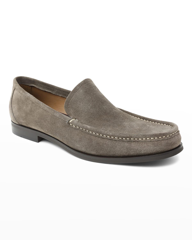 Men's Enrico Suede Slip-On Loafers