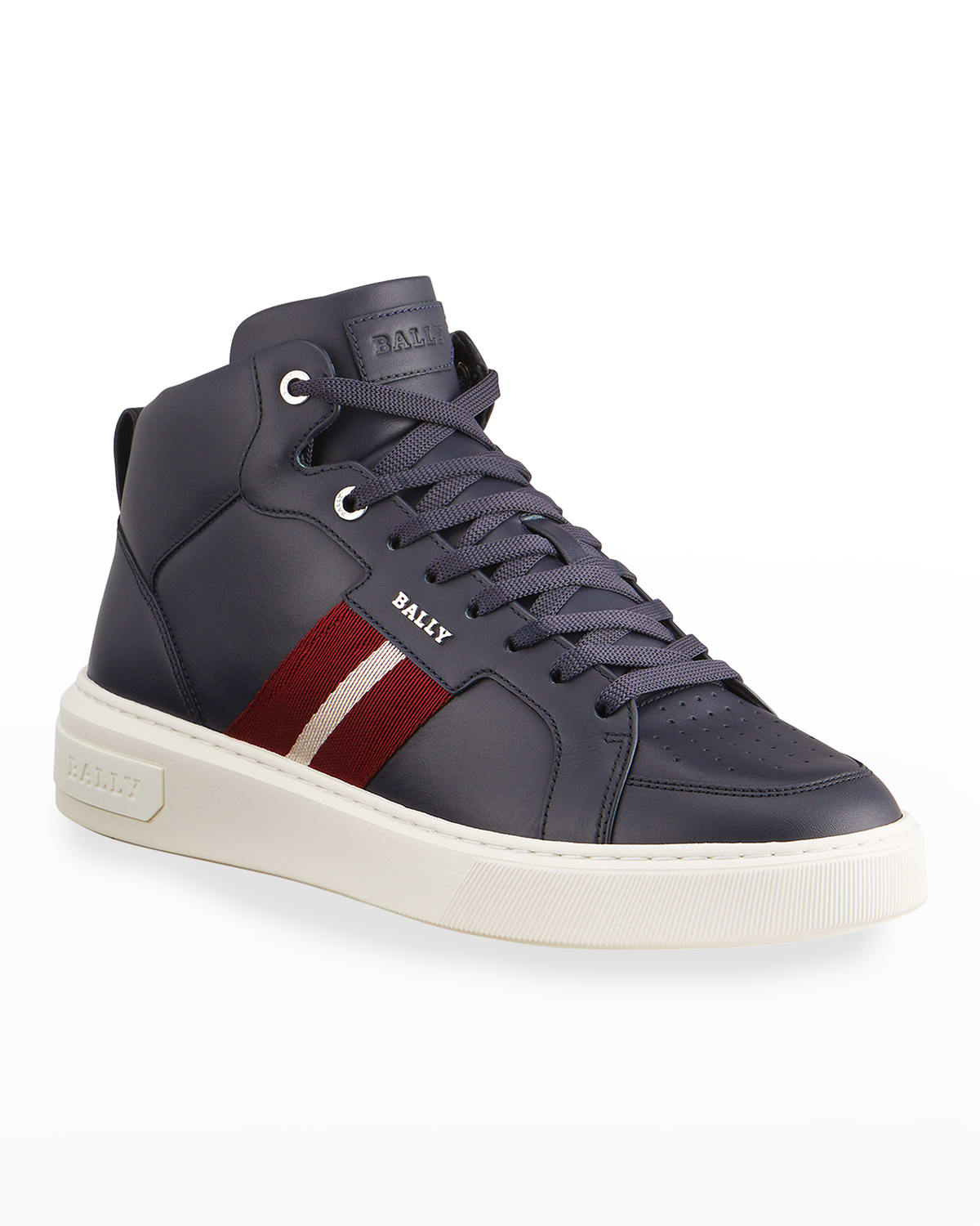 Men's Myles 29 Trainspotting Leather High-Top Sneakers