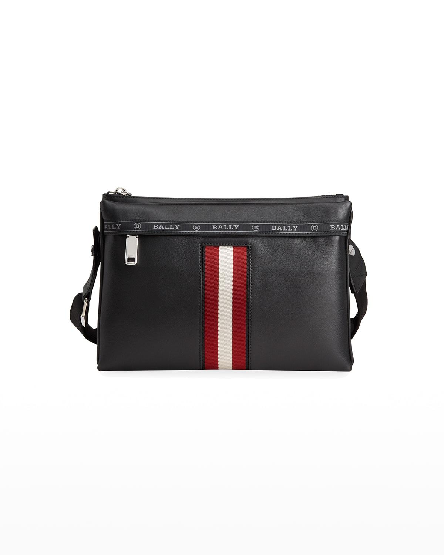 Men's Trainspotting Leather Crossbody Bag