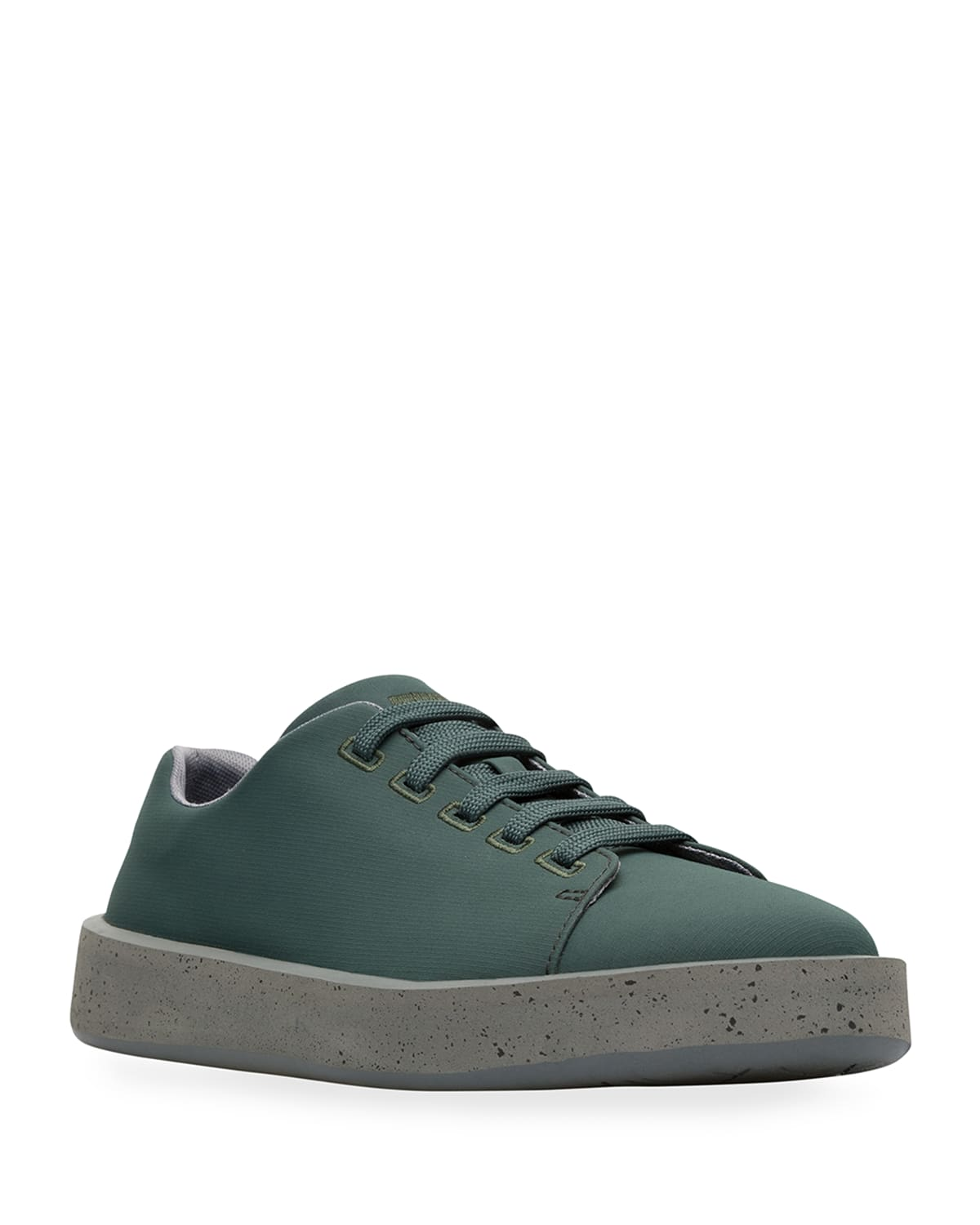 Men's Courb Nylon Speckled Low-Top Sneakers