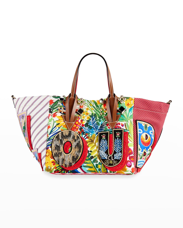 Caracaba Small Mix-Print Tote Bag