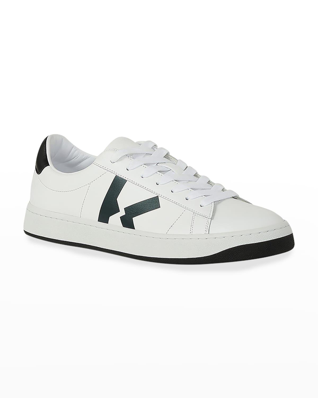 Men's Kourt Leather Low-Top Sneakers