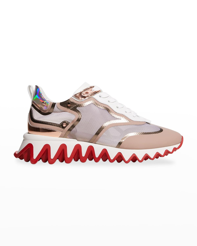 Sharkina Colorblock Spike Trainer Sneakers