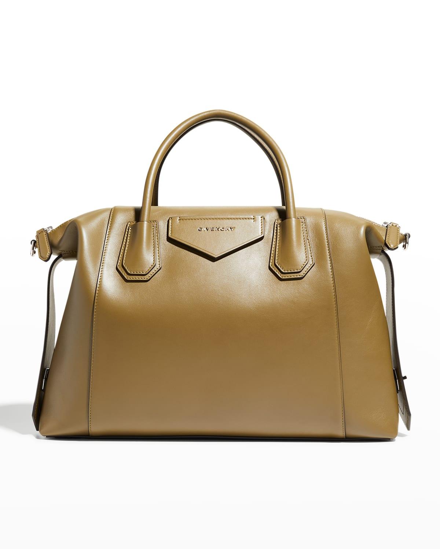 Medium Antigona Soft Satchel Bag in Calfskin