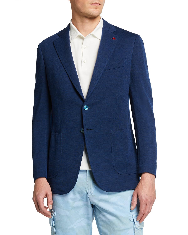 Men's Wool Jersey Jacket