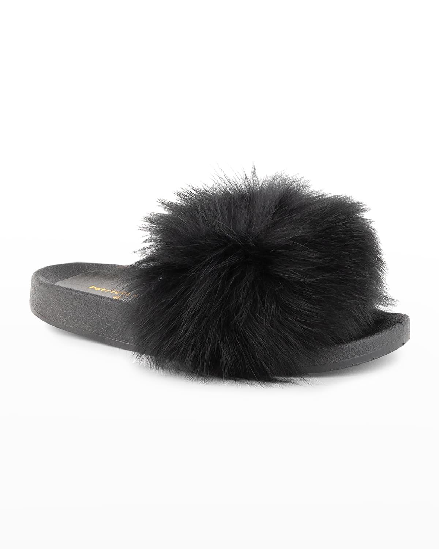 Foxy Pom Slippers