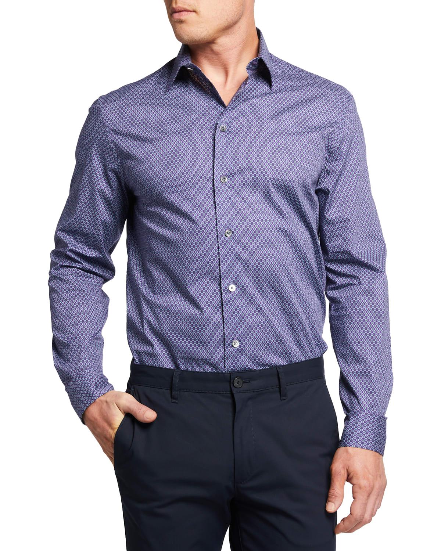 Men's Mini-Dot Sport Shirt