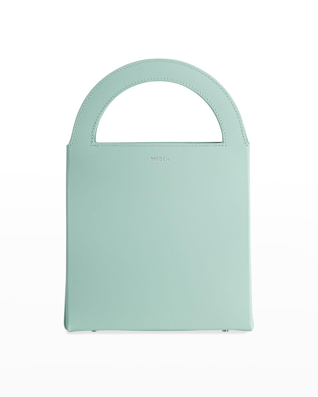 Europa Leather Top-Handle Bag