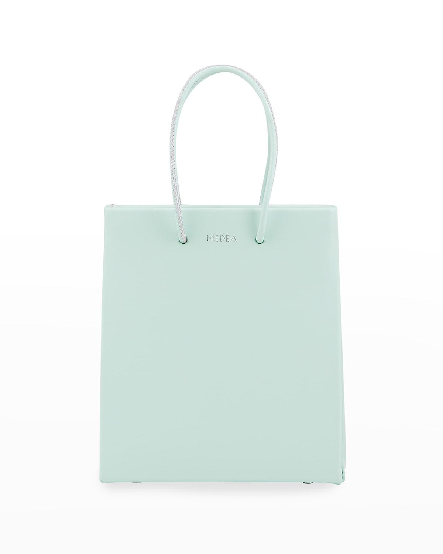 Prima Leather Short Tote Bag