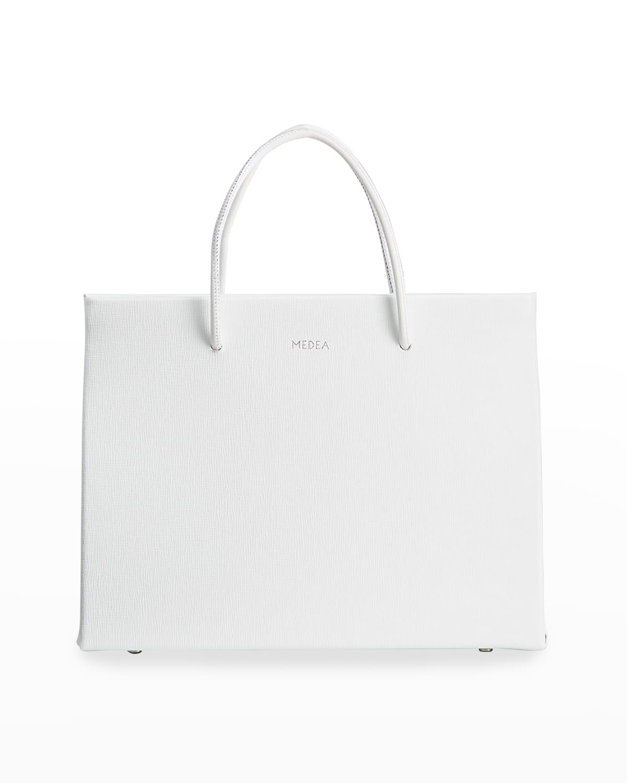 Hanna Saffiano Leather Tote Bag