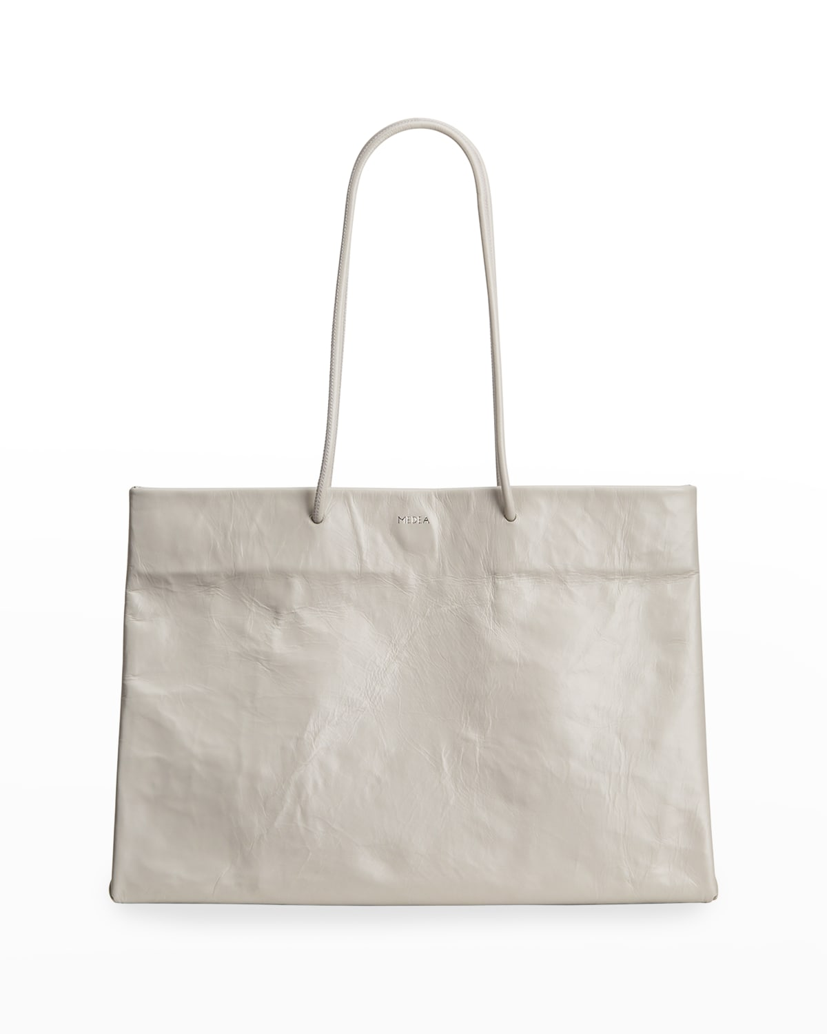 Busted Leather Tote Bag