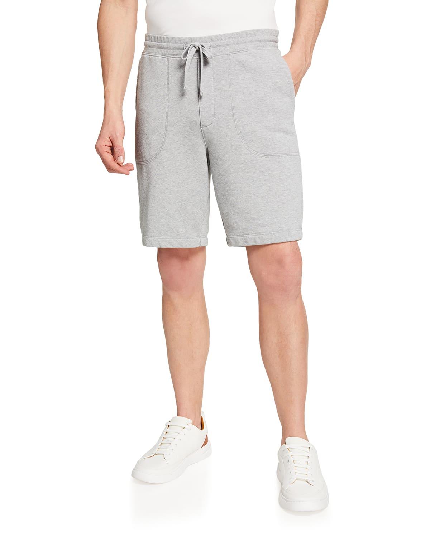 Men's French Terry Drawstring Shorts