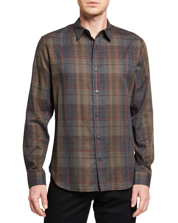 Men's Forest Plaid Sport Shirt