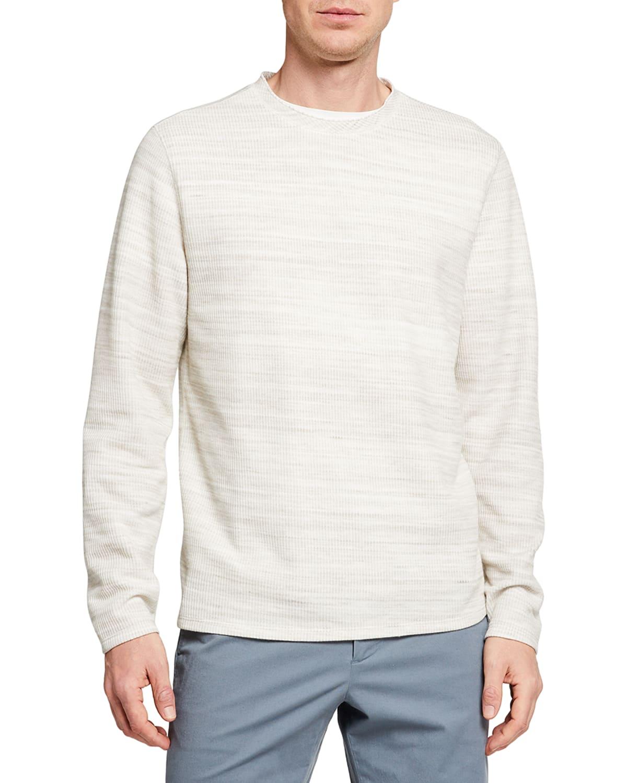 Men's Heathered Long-Sleeve Thermal T-Shirt