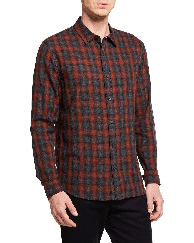 Men's Canyon Shadow Plaid Sport Shirt