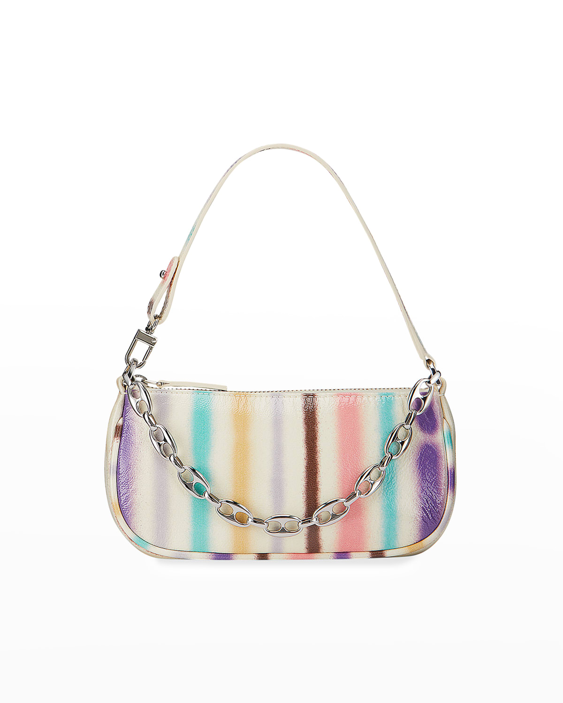Mini Rachel Multicolor Spray-Print Shoulder Bag