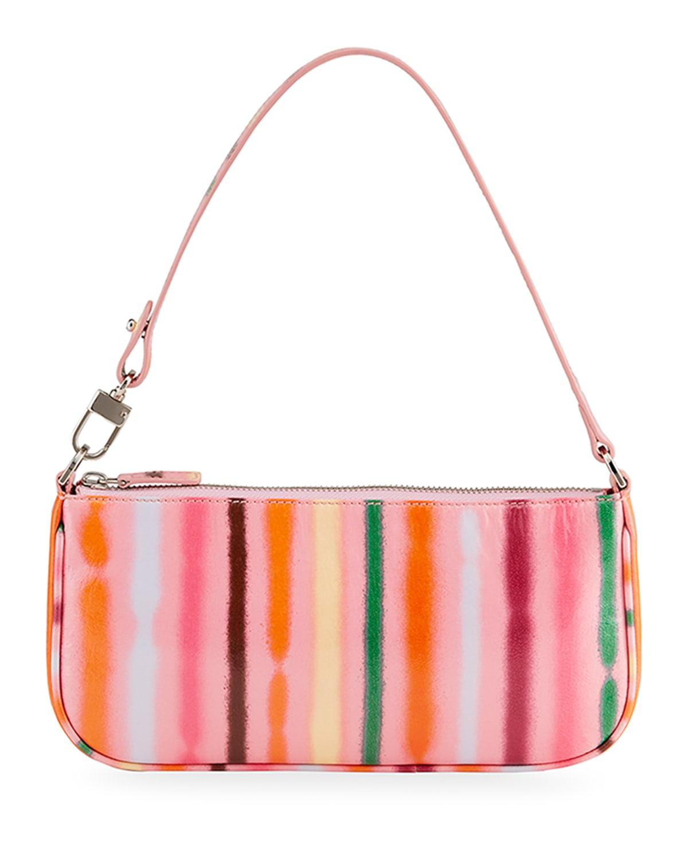 Rachel Spray Paint Shoulder Bag