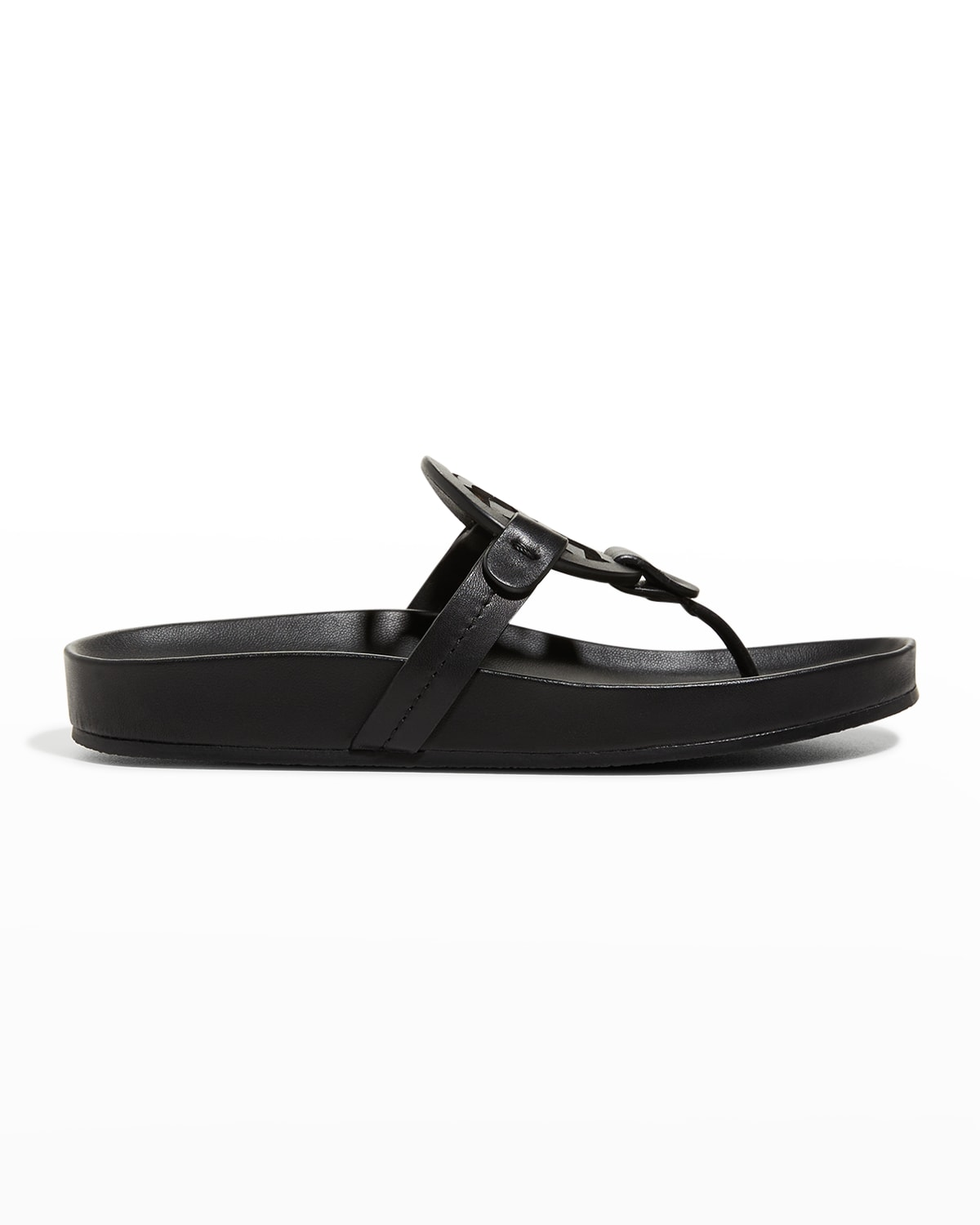 Miller Cloud Leather Thong Sandals