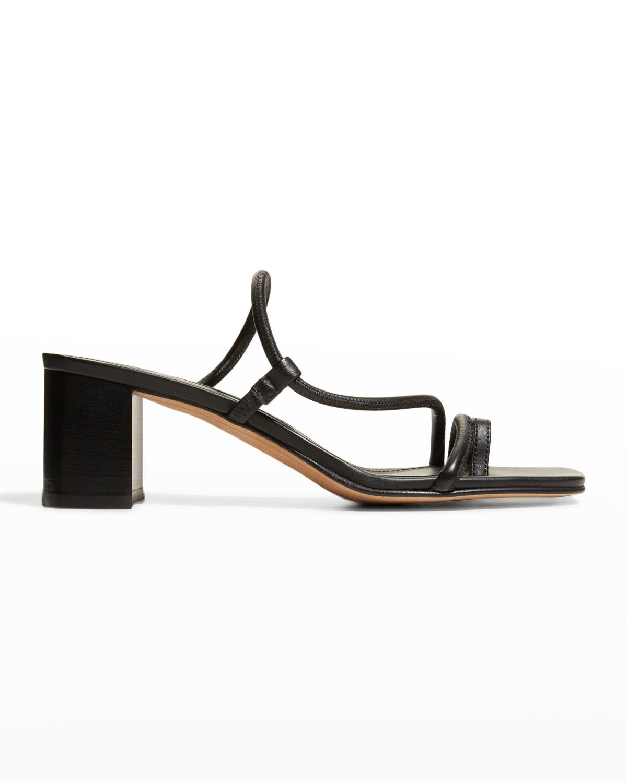 Brera 60mm Leather Block-Heel Sandals