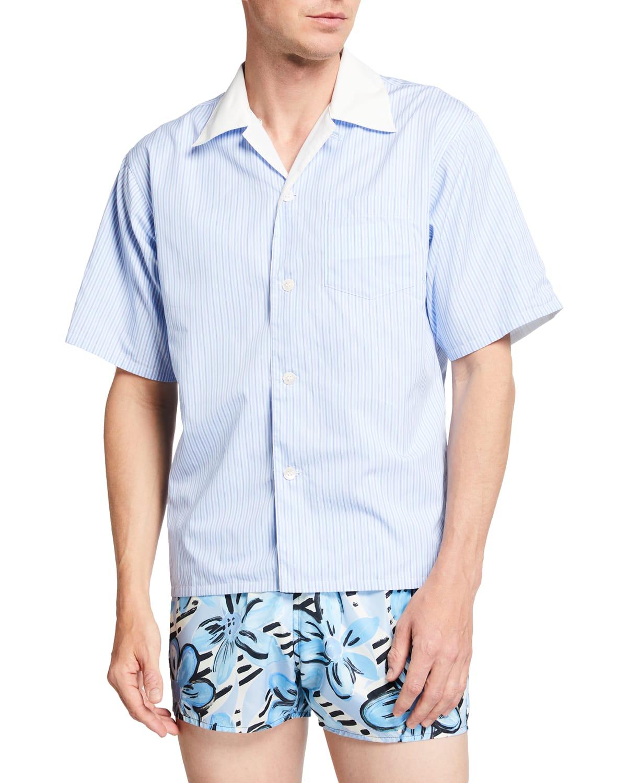 Men's Reverse Bowling Shirt
