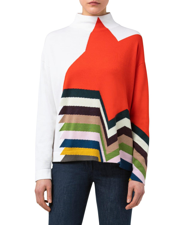 Kinderstern Intarsia Oversized Sweater