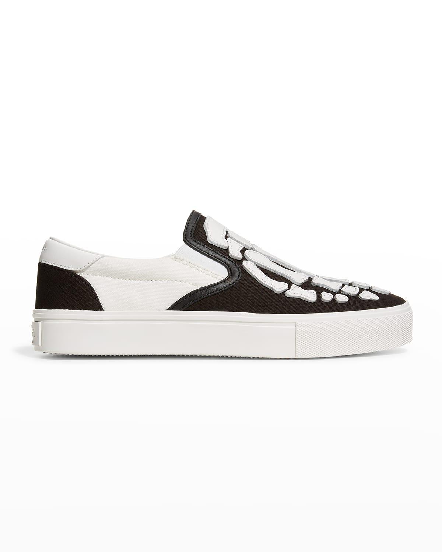 Men's Skeleton Toe Slip-On Sneakers