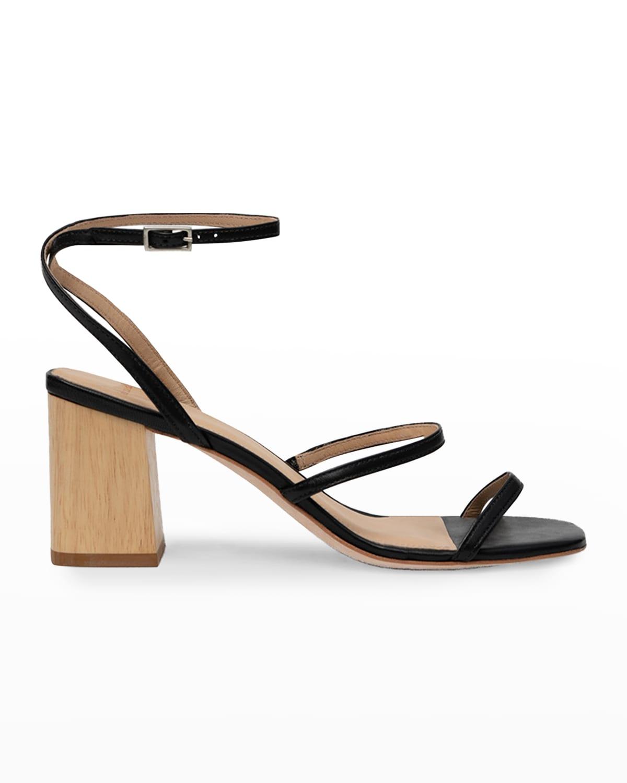 Verana Ankle-Strap High-Heel Sandals