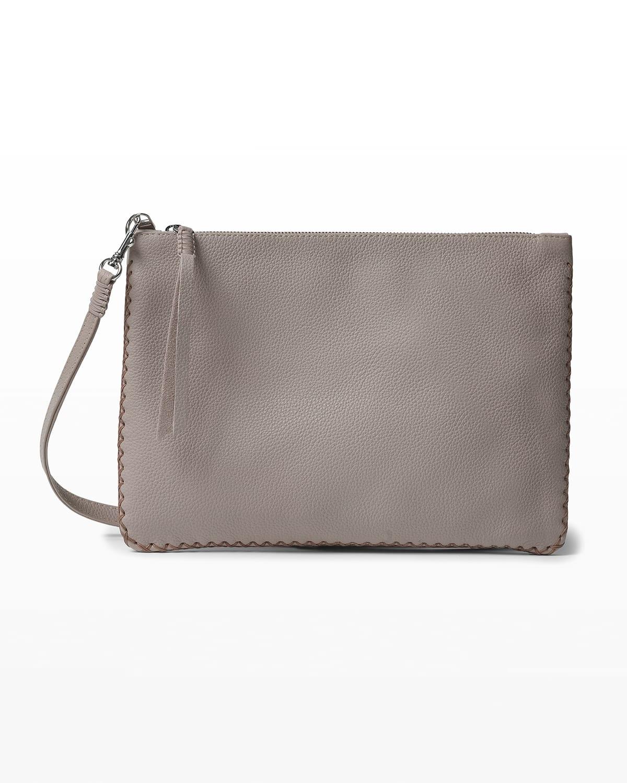 Iconic Maxi Stitched Pochette Bag with Crossbody Strap