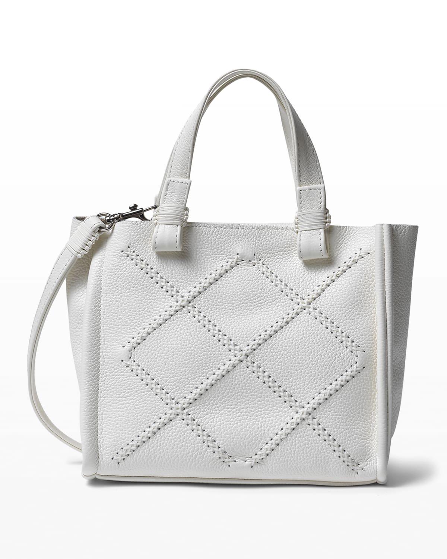 Iconic Mini Stitched Crossbody Tote Bag