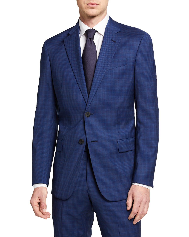 Men's High Blue Two-Piece Travel Suit