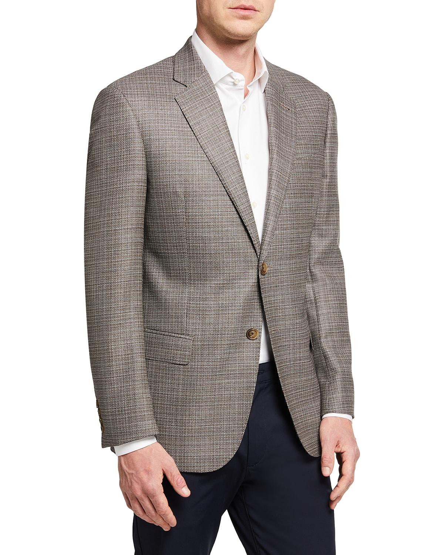 Men's Wool Birdseye Sport Coat