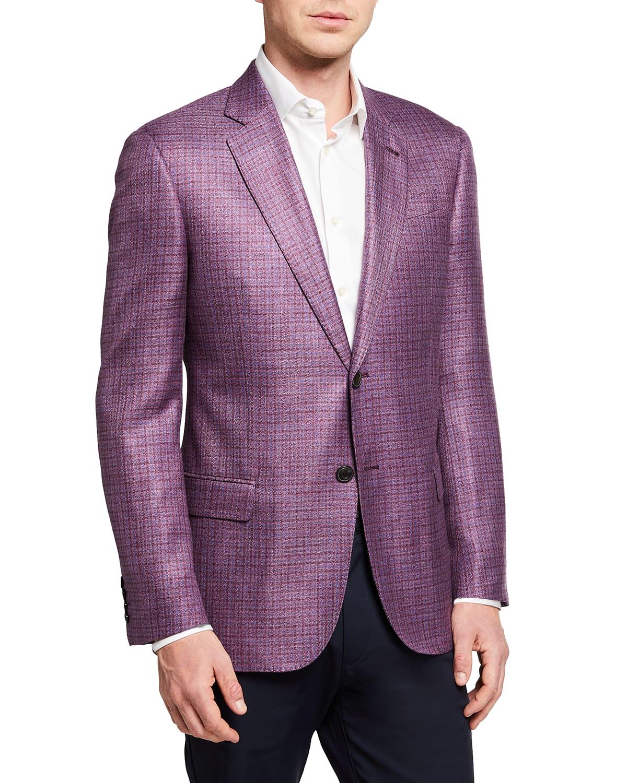 Men's Rose Micro Box Sport Coat
