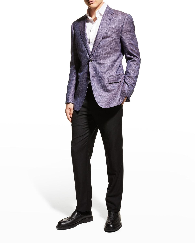 Men's Birdseye Wool Sport Coat