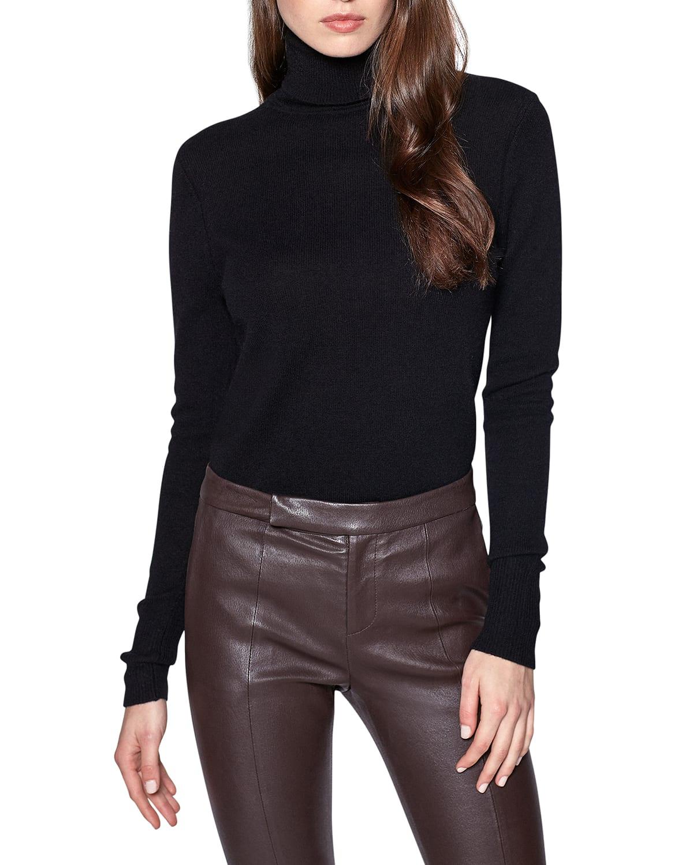 Delafine Cashmere Turtleneck Sweater