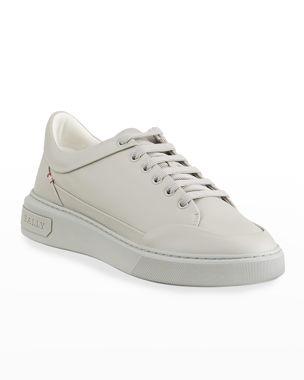 Men's Melvin 11 Calfskin Leather Low-Top Sneakers