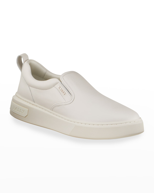Men's Mardy 07 Tonal Calfskin Slip-On Sneakers